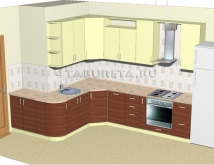 Эскизы кухонь